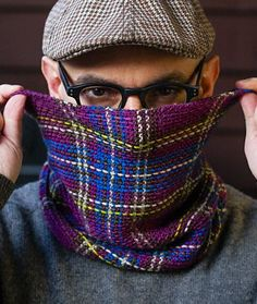 Princess Franklin Plaid Collar | (Stitches in Time) : Knitty Winter 2013 awesome pattern thats free