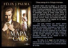 El mapa del caos. Félix J. Palma. EduRead: #RecomiendoLeer @davidgscom Movie Posters, Movies, Maps, Book Reviews, Recommended Books, Film Poster, Films, Movie, Film