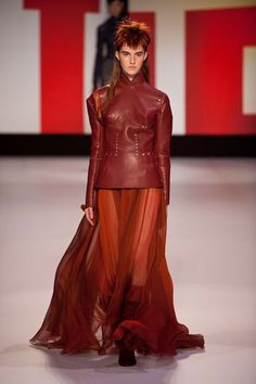 Gorgeous colors and EVERYTHING....Jean Paul Gaultier Fall 2013: Jean Paul Gaultier Fall 2013
