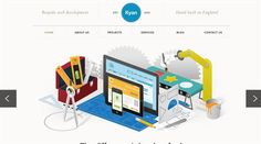 25 Most Beautiful and Fresh Web Design examples for your inspiration