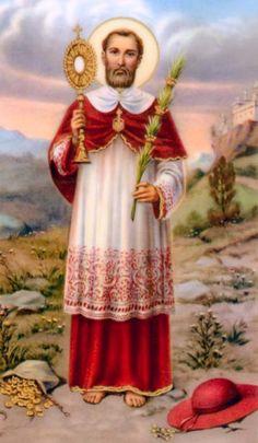 """SAN RAMON NONATO""""(1204 -1240) No conoció las caricias de una madre, pues ésta mirió antes de venir él al mundo, Rmón nació a favor de una operación sobre el cuerpo ya muerto de sus madre, por lo que se llamó """"Nonato"""" (no nacido); desde muy temprana edad fue devoto, humilde, prudente y obediente a su padres, temeroso dde Dios, cuidadoso de su conciencia, limpio en los pensamientos modesto en su porte discreto en las palabras ,ángel en las acciones y amado de cuantos lo conocían."""