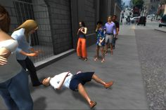 Former Newsweek correspondent Nonny de la Peña has developed a 3D virtual reality simulation that recreates a real eyewitness account of a crisis in Los Angeles as people wait outside a food bank. 'Hunger in Los Angeles' was designed using gaming development tools and includes a body-tracking system. Users wear a head-mounted goggle display to fully immerse themselvesin the game where they can walk around and interact with other characters in real-time.    The incident in the game is an…