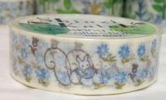 Shinzi Katoh Squirrel Washi Tape