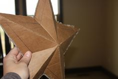 How to make a large 3D star for mantle. If you did the right paint technique, it would look just like the expensive metal ones