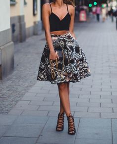 bralette skirt shoes high heels strappy heels crop tops crop top bustier laced up heels