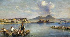 Consalvo Carelli - Veduta di Napoli