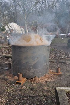 The Pope Charcoal Kiln