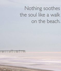 ALONE in the peace and quiet with the only sound is waves crashing on the shore.