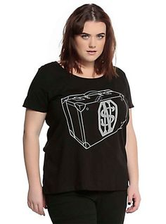 a11a5ca44ff Fantastic Beasts And Where To Find Them Newt s Suitcase Girls T-Shirt Plus  Size
