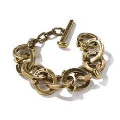 Railroad Spike Link Bracelet