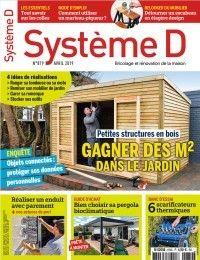 Système D Constructions en bois : gagner des mètres carrés dans le jardin Local Technique, Square Meter, Kidsroom, Wood Construction, Garage, Public, Deco, Isolation, Circuits