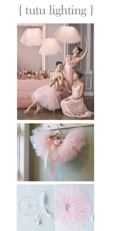This is pretty sweet for a girly girl #home http://www.marthastewartweddings.com/article/tutu-lampshade-how-to