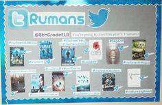 Twitter themed Truman Award Nominee Bulletin Board