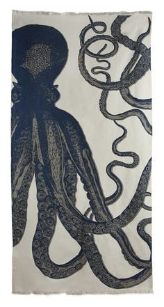 Octopus Beach Blanket/Towel
