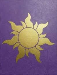 Image result for tangled sun template