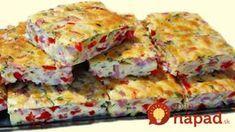 Geniálna večera len z 3 vajec: Slané rýchlorezy so šunkou a červenou paprikou!