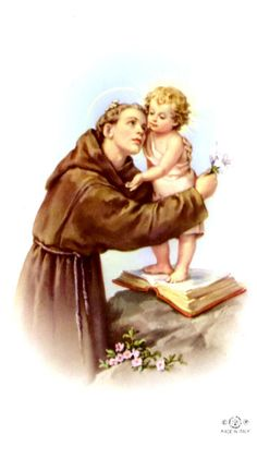 St Anthony of Padua |Available on eBay