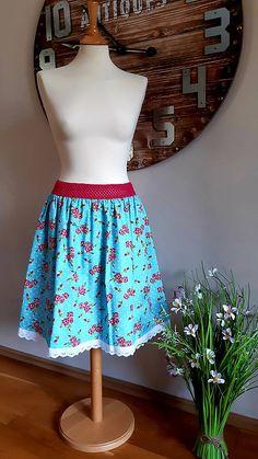 ZuzanaFalk / sukňa ružičky Pastel, Summer Dresses, Fashion, Moda, Cake, Summer Sundresses, Fashion Styles, Fashion Illustrations, Summer Clothing