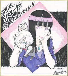Death Parade   Death Billiards   Madhouse / Decim and Kurokami no Onna