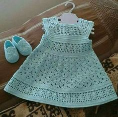 Crochet Gemstone Lace Toddler