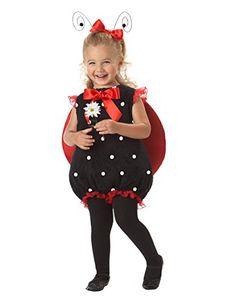 California Costumes Lil Lady Bug Romper RedBlack 1824 Costume