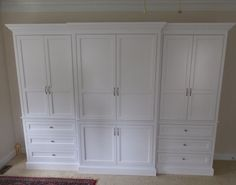 Custom Made Built-In Wardrobe Armoire