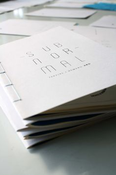 ~ Subnormal Fanzine ~ by José Miguel Flores López , via Behance