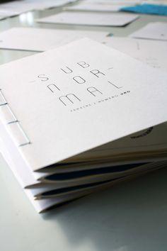 ~ Subnormal Fanzine ~ by José Miguel Flores López , via Behance