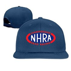 Introducing ZJane NHRA Racing Sunbonnet Baseball Cap Hip Hop Hat Adjustable  Snapback Flat Bill Navy. Great Product and follow us to get more updates! 6fac8a5b2415