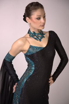 Custom accessories for ballroom dancers: belts, necklaces, earrings, etc. Pearl And Lace, Ballroom Dress, Dance Costumes, Dance Wear, Designer Dresses, Backless, Sparkle, Gowns, Couture