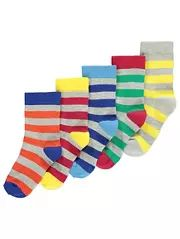 Assorted Ankle Socks 5 Pack
