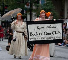 This is AWESOME.  Jayne Cobb meets Jane Austen.  How much better can you get?