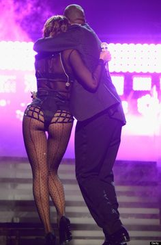 Beyonce & Jay-Z at the 2014 Grammys