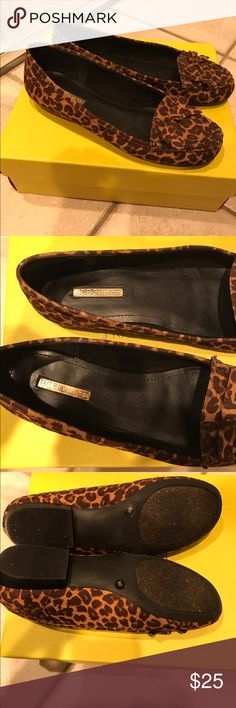 BCBGENERATION leopard flats! Worn once - size 7 BCBGENERATION leopard flats! Worn once - size 7 - perfect condition. ⭐️OPEN TO OFFERS!⭐️ BCBGeneration Shoes Flats & Loafers