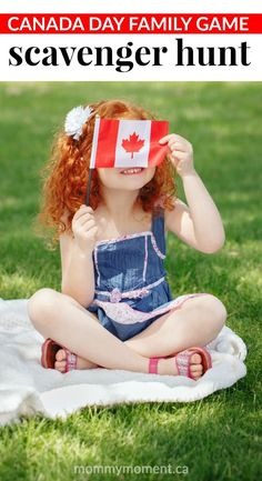 Canada Day Family Game -- A Canada Day Scavenger Hunt is a great way for everyone to participate in a game and enjoy the holiday. Be sure to have a list of items for each person, and make sure all items are hidden before guests arrive! Family Games, Family Kids, Games For Kids, Activities For Kids, Holiday Activities, Kindergarten Activities, Learning Activities, Diy Party Themes, Party Ideas