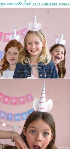 Unique Unicorns ✨ These unicorn horn party hats are a great way to get your party guests involved in the magical fun. With this party accessory, everyone can be a unicorn. https://liagriffith.com/unicorn-horn-party-hats/ * * * #unicorn #unicorns #unicornio #party #birthday #birthdayparty #diyparty #diy #diycraft #diycrafts #diyidea #diyideas #diykids #kids #kidscrafts #magic #diyproject #diyprojects #madewithlia