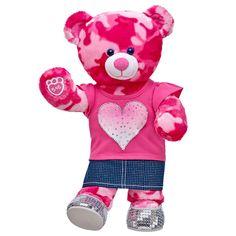 Sweetheart Pink Camo Bear | Build-A-Bear Workshop