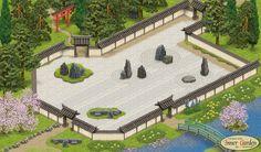 Japanese dry garden!