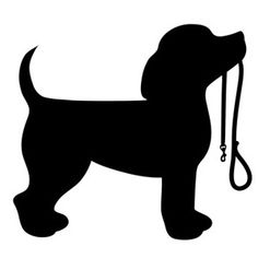 Beagle silhouette clip art. Download free versions of the ...