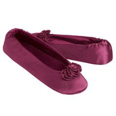 isotoner embroidered pearl satin ballerina 17 00 shoes
