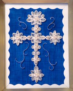A Way With Paper: Quilling Cross of all kinds