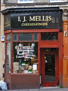 Cheesemonger.  Right next door to where I worked.  Stockbridge, New Town, Edinburgh