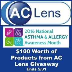 This post contains affiliate links if clicked on I may receive a small commission to support this blog. Welcome To The National Asthma & Allergy Awareness Month Giveaway! Host: Michigan Saving …