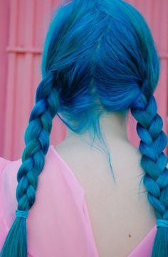 I. want. blue. hair. :(