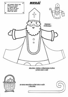 Vorschule Basteln Weihnachten – Rebel Without Applause 3d Christmas, Christmas Colors, St Nicholas Day, Activities For Kids, Crafts For Kids, Theme Noel, Christmas Coloring Pages, Sunday School Crafts, Winter Kids