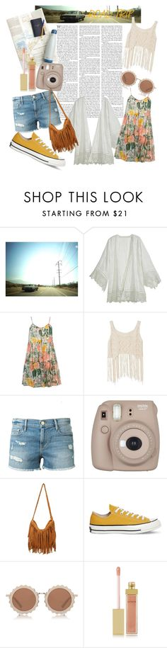 """""""Untitled #7"""" by claire-ewart ❤ liked on Polyvore featuring Lola James Harper, Calypso St. Barth, Dorothy Perkins, Frame Denim, Converse, House of Holland, AERIN and roadtrip"""
