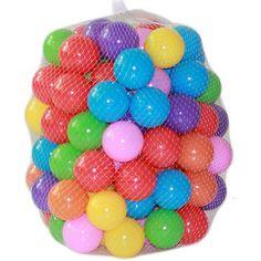 100 unids/bolsa 5.5 cm bola marina de color equipo de juegos para niños de natación pelota de juguete de color