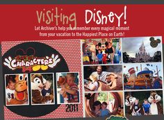 #disney #scrapbook #layout Gotta work on this book for the kids from our trip 4 years ago...sigh.