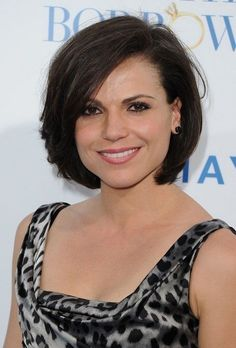 Feminine Bob Haircut for Short Hair - Hairstyles for Women with Round Faces