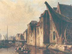COURTRAI (Blegique) 1815 - De Oude kraan te Kortrijk